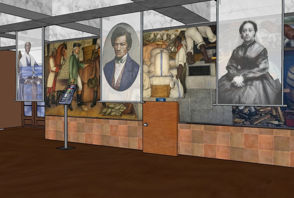 Preserve, Augment and Animate the Life of Washington Murals.
